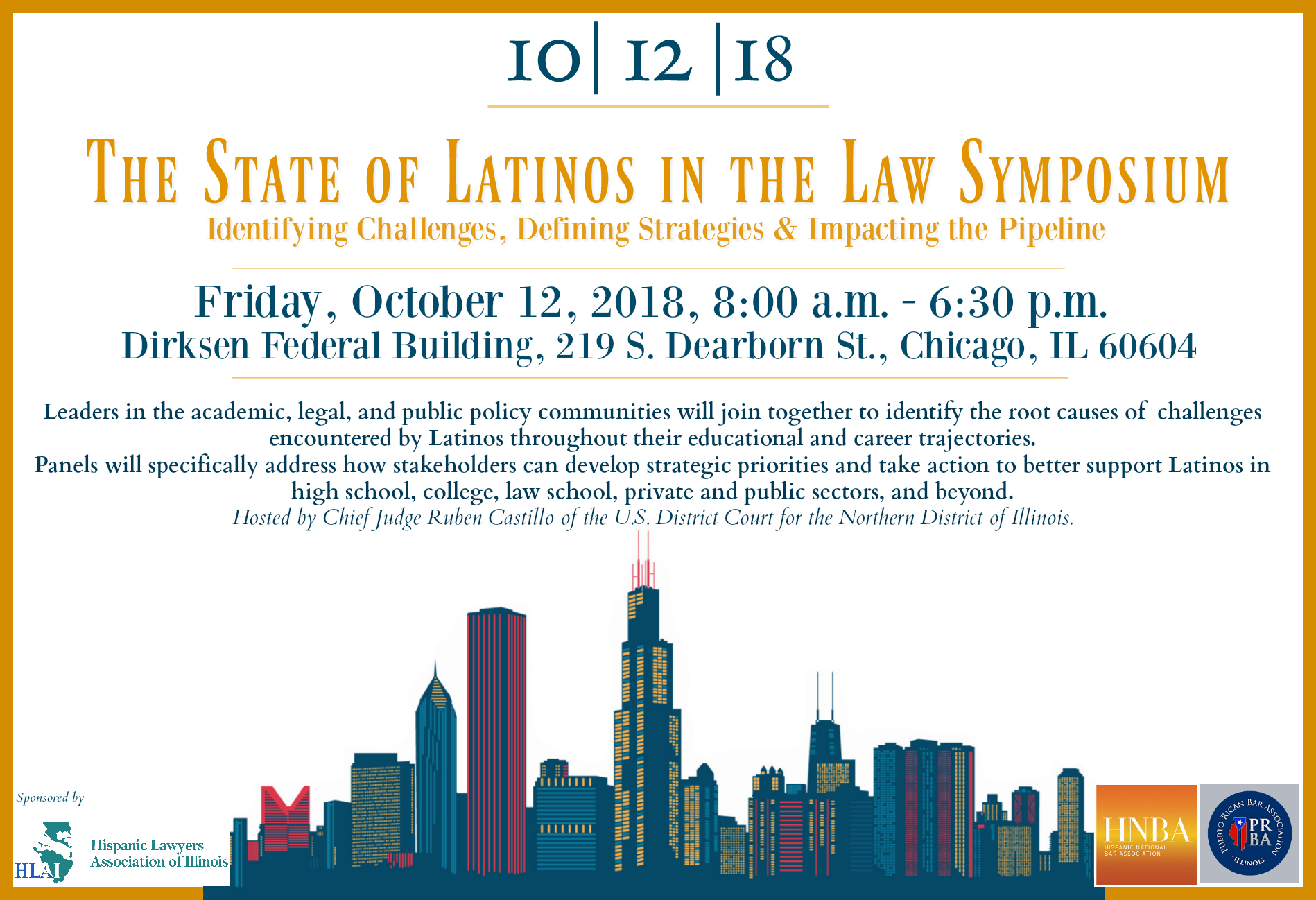 THE STATE OF LATINOS IN THE LAW SYMPOSIUM PROGRAM