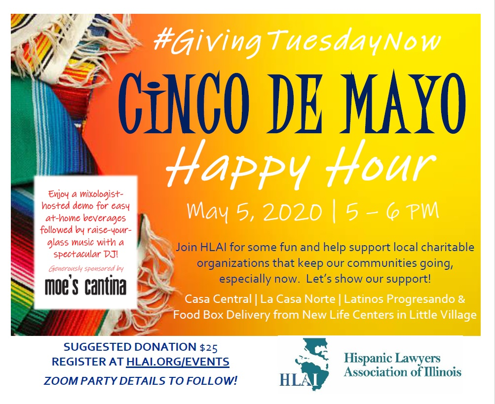 More Bang for the Charitable Buck! Cinco de Mayo Happy Hour Update