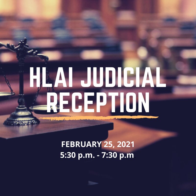 Thank you for making the Fifth Annual Judicial Reception a successful event!